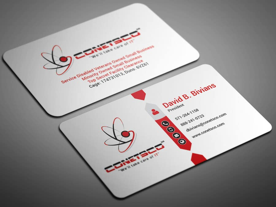 Entry #40 by smartghart for Business Card CReation | Freelancer