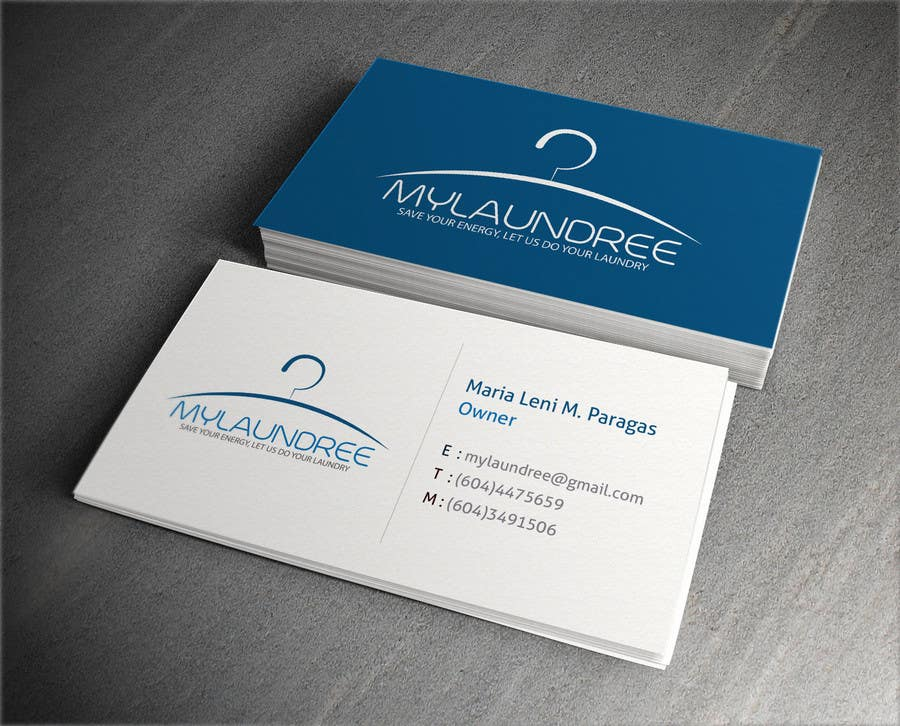 Entry #11 by AlphaGraphics for Business Card for my new Laundry ...