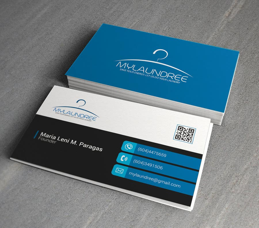 Entry #25 by alemammirip for Business Card for my new Laundry ...