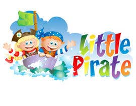 #105 untuk Logo Design for a baby shop - Nice pirates with a Cartoon style, fun and modern oleh vectorpic