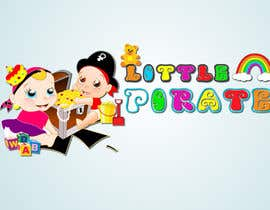 #123 untuk Logo Design for a baby shop - Nice pirates with a Cartoon style, fun and modern oleh Bert671