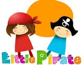 #34 untuk Logo Design for a baby shop - Nice pirates with a Cartoon style, fun and modern oleh AnaCZ