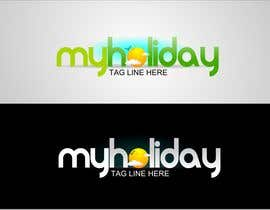nº 176 pour Logo Design for My Holiday par colourz