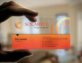 #115 para Business Card Design for SolarSyz por Brandwar