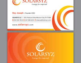#116 para Business Card Design for SolarSyz por Brandwar