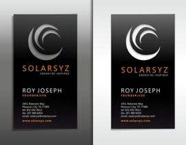 #22 for Business Card Design for SolarSyz af krismik