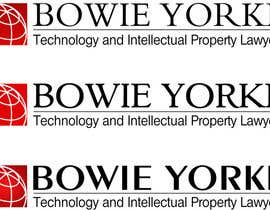 nº 134 pour Logo Design for a law firm: Bowie Yorke par gbrock