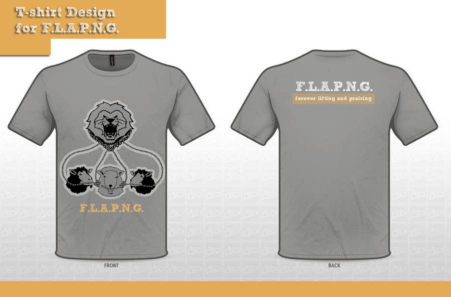 Inscrição nº                                         42                                      do Concurso para                                         T-shirt Design for F.L.A.P.N.G. (forever lifting and praising)