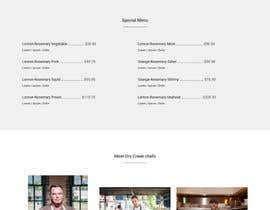 #8 para Build a Single Landing Page for Dry Creek BBQ por Faneel
