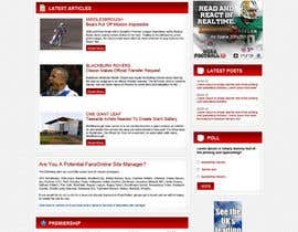 #1 untuk Website Design for FansOnline.net Ltd oleh tania06