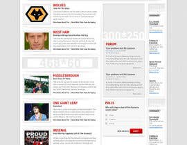 nº 29 pour Website Design for FansOnline.net Ltd par creativeideas83