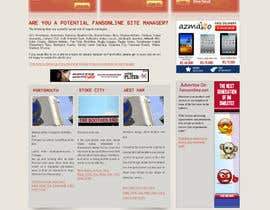 nº 25 pour Website Design for FansOnline.net Ltd par techwise