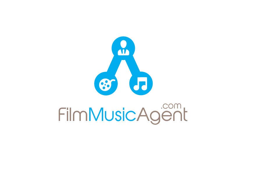 Конкурсная заявка №7 для Logo Design for Film Music Agent.com
