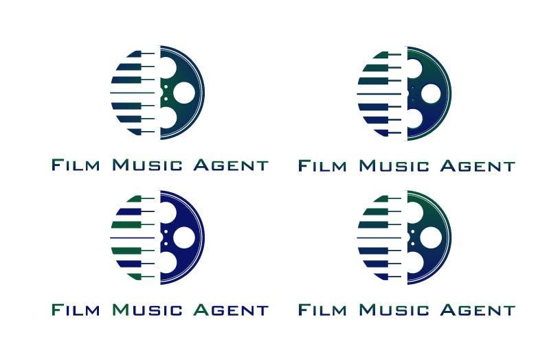 Inscrição nº 58 do Concurso para Logo Design for Film Music Agent.com