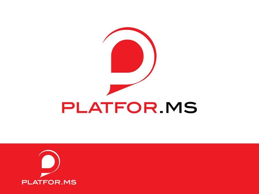 Inscrição nº 52 do Concurso para Logo Design for Platfor.ms