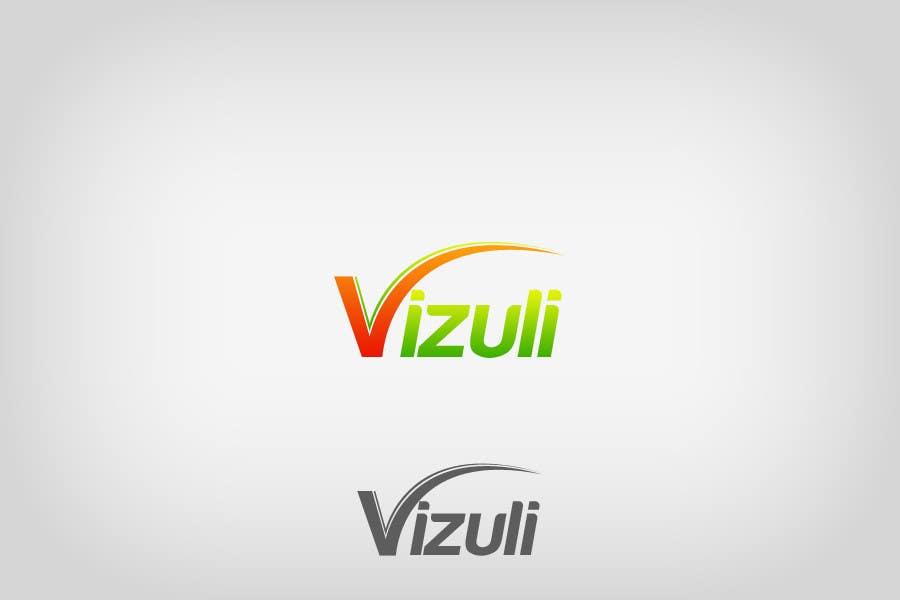 """Intrarea #130 pentru concursul """"Logo Design for Vizuli"""""""