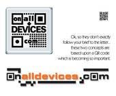 Graphic Design Конкурсная работа №77 для Logo Design for On All Devices Ltd