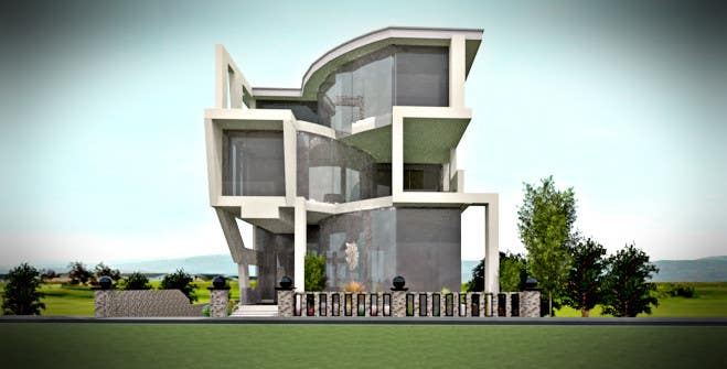Entry 34 By Jbdisenyo For Ultra Modern Town House