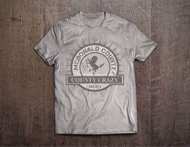 db1404 tarafından Mustangs spiritwear shirt için no 30