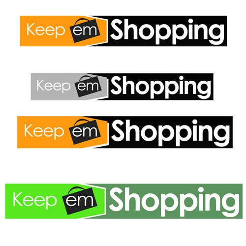 #71 for Logo Design for Keep em Shopping by UnivDesigners
