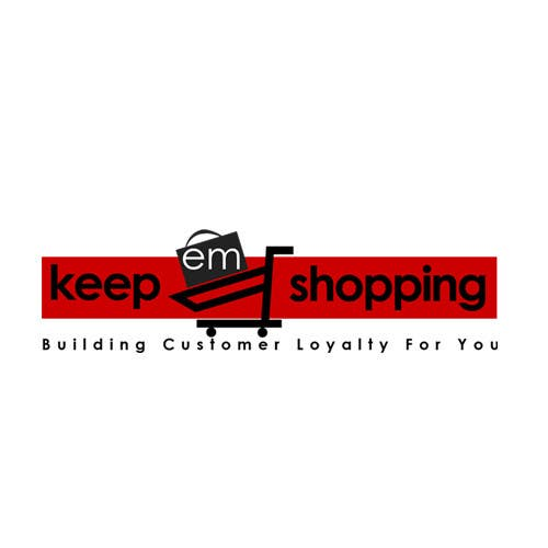 #73 for Logo Design for Keep em Shopping by UnivDesigners
