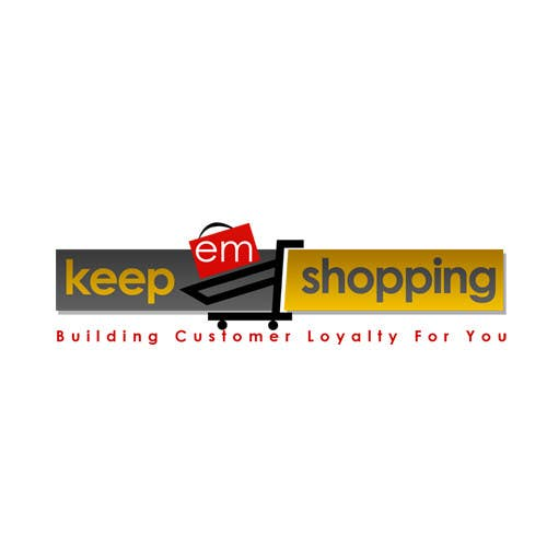 #74 for Logo Design for Keep em Shopping by UnivDesigners
