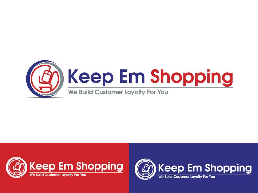 #91 for Logo Design for Keep em Shopping by winarto2012