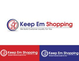 #91 pentru Logo Design for Keep em Shopping de către winarto2012