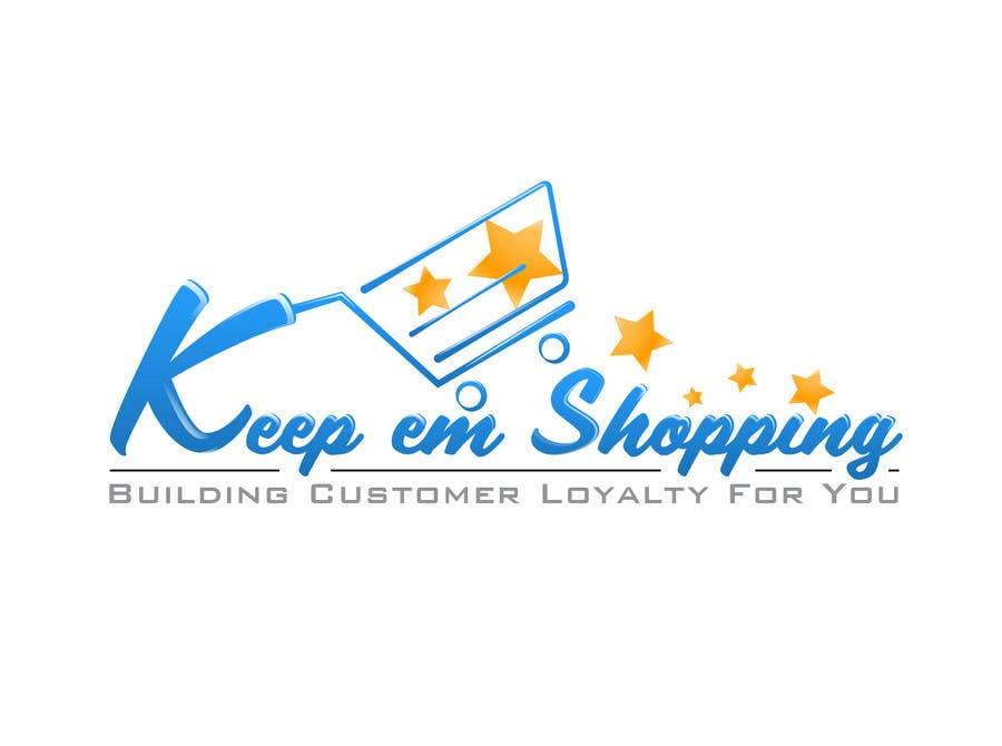 #85 for Logo Design for Keep em Shopping by SkyWalkerAL