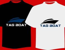 #26 cho T-shirt Design for Tag Boats bởi rakibahamed