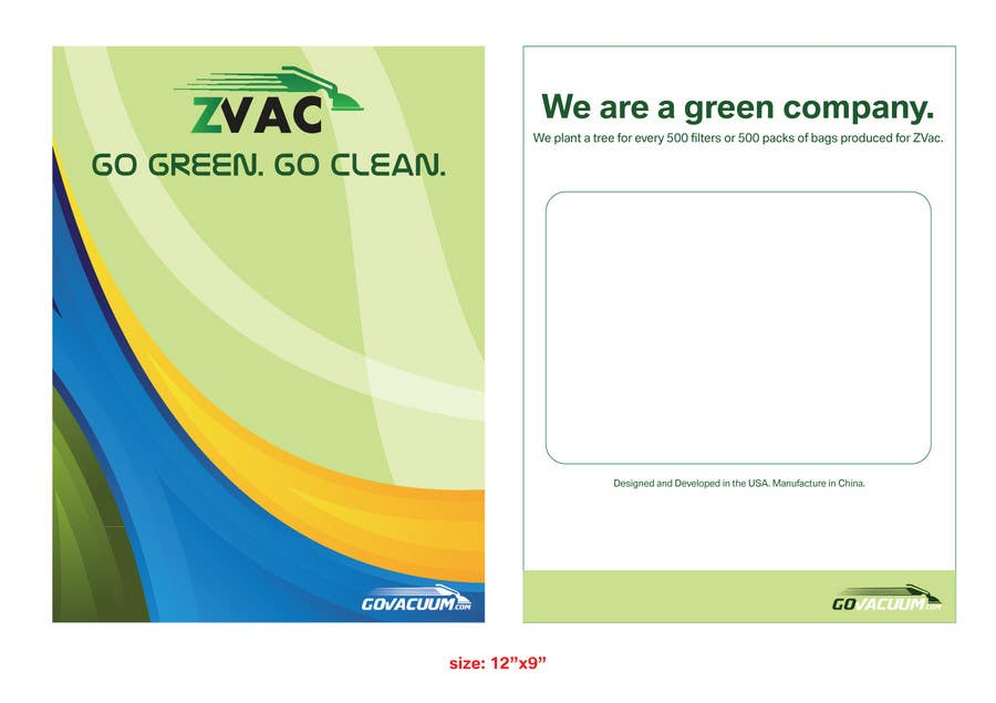 Contest Entry #                                        27                                      for                                         Print & Packaging Design for GoVacuum.com - ZVac
