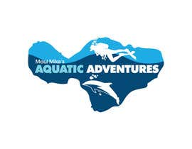 #147 para Logo Design for Maui Mikes Aquatic Adventures por marumaruya2010