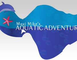 deemiju tarafından Logo Design for Maui Mikes Aquatic Adventures için no 114