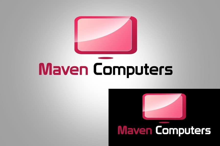 Kilpailutyö #                                        159                                      kilpailussa                                         Logo Design for Maven Computers