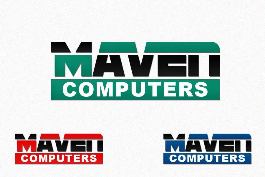 Kilpailutyö #                                        175                                      kilpailussa                                         Logo Design for Maven Computers