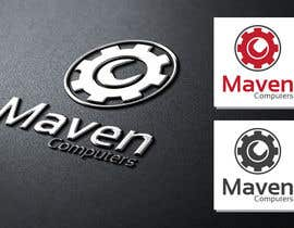 #43 para Logo Design for Maven Computers por ipanfreelance