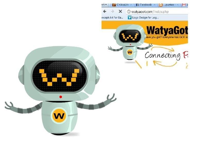 Konkurrenceindlæg #8 for WATYAGOT !  Iconic Character