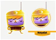 Graphic Design Konkurrenceindlæg #62 for WATYAGOT !  Iconic Character