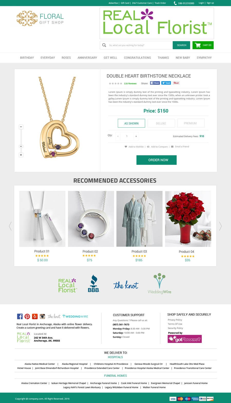 Entry #44 by amitesh123 for Design a Website Mockup - Home page and ...