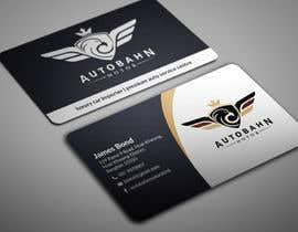 Nro 25 kilpailuun Business card for prestige car showroom using existing Logo käyttäjältä BikashBapon