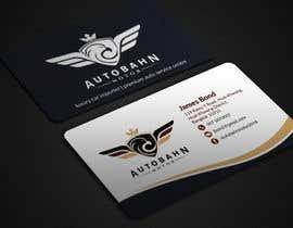 Nro 61 kilpailuun Business card for prestige car showroom using existing Logo käyttäjältä BikashBapon