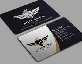 Nro 66 kilpailuun Business card for prestige car showroom using existing Logo käyttäjältä BikashBapon
