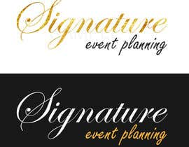 nº 11 pour Design a Very Professional logo ( I Will Award Fast) Signature Event Planning par gt4ever