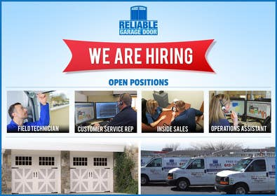 Image of                             Create an attractive Now Hiring ...