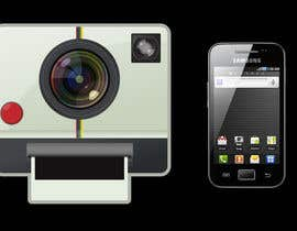 nº 432 pour Android Icon Design (Camera Application) par vanesaurus