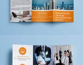 nº 9 pour Design a trifold brochure for my IT services company par sayedhasanbd37