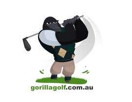 #3 cho Logo Design for www.gorillagolf.com.au bởi STrangethoughts