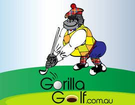 #33 для Logo Design for www.gorillagolf.com.au от AlexandraEdits