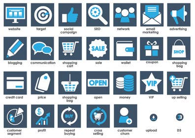 Image of                             Make a 27 icons