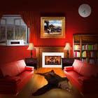 Graphic Design Inscrição do Concurso Nº23 para Transform a bad hand drawing into a quality graphic-Two Living Rooms (2 styles:Log Cabin and Modern)